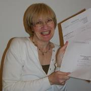 The day I  signed my first  publishing contract.