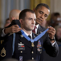 Medal of Valor presented to US soldier
